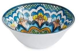 Distinctly Home Patterned Salad Bowl
