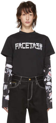 Facetasm Black Logo T-Shirt