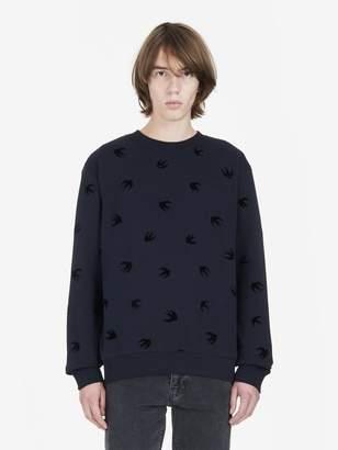McQ Micro Swallow Sweatshirt