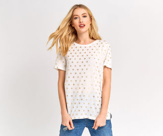 Gold Spot Tee $36 thestylecure.com