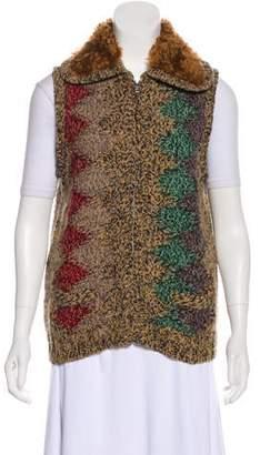 Prada Wool & Cashmere-Blend Vest