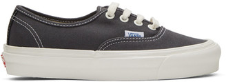 Vans Grey Authentic LX Sneakers $60 thestylecure.com