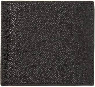 Thom Browne Black Leather Wallet $480 thestylecure.com