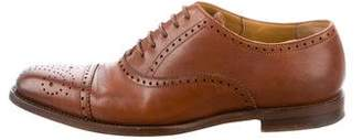 Ralph Lauren Leather Perforated Oxfords