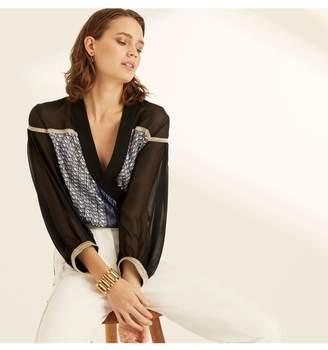 Amanda Wakeley Gold Watch Chain Cuff Bracelet