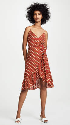 J.o.a. Polka Dot Dress
