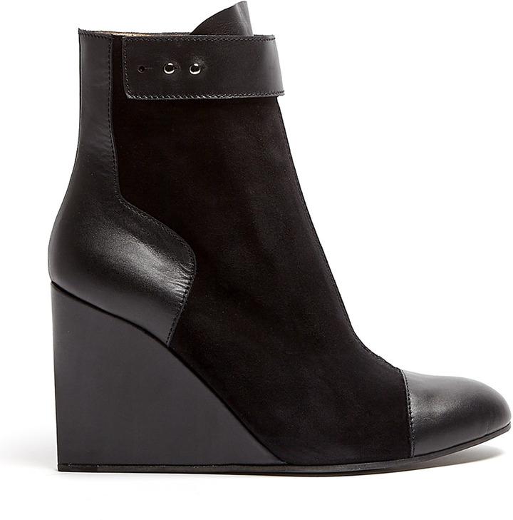 Joseph Wedge Zip Boots
