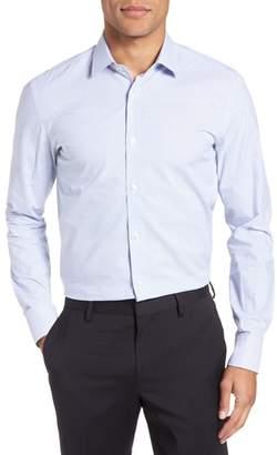 BOSS Jesse Slim Fit Check Dress Shirt