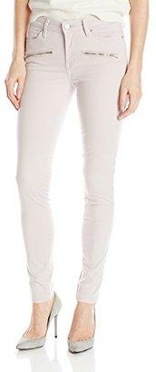 Calvin Klein Jeans Women's Color Driver Moto Legging $48.99 thestylecure.com