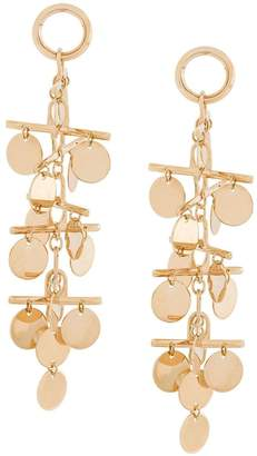 Eddie Borgo hanging coin earrings