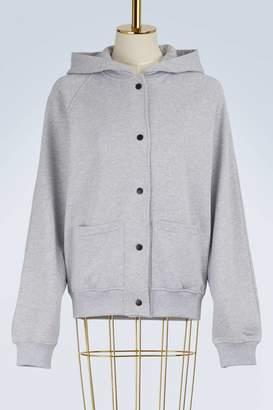 Kenzo Cotton logo hoodie bomber jacket