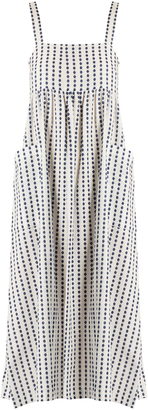 MARA HOFFMAN Polka-dot cotton midi dress $295 thestylecure.com