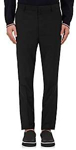 Lanvin MEN'S WORSTED SLIM TROUSERS-BLACK SIZE 46 EU
