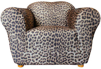 Sure Fit Statement Prints Leopard 1 Seater Chair Cover