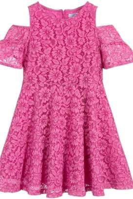 Mayoral Pink Lace Dress
