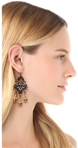 Fallon jewelry Winged Chandelier Earrings