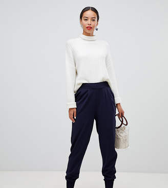 Asos Tall DESIGN Tall jersey crepe cuffed balloon trousers