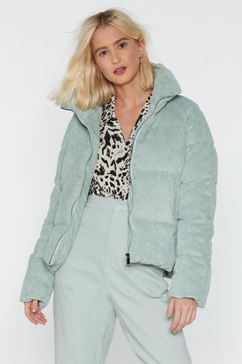 Nasty Gal Give Winter Padded Jacket