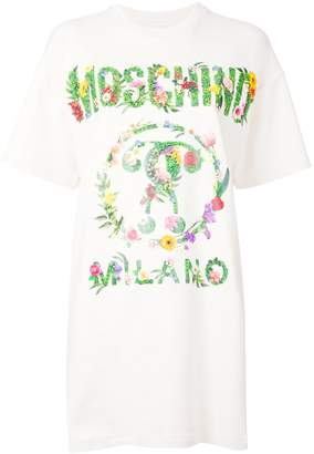 Moschino logo printed T-shirt dress