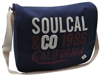 Soul Cal SoulCal Unisex Cal Courier Messenger Bags Single Strap Travel Luggage Accessory