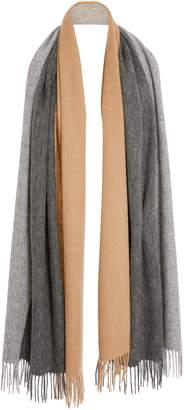 Donni. Trio Colorblock Wool Scarf