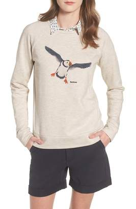 Barbour Morpeth Puffin Print Sweatshirt