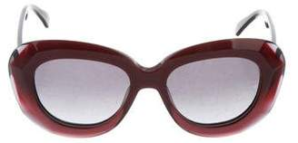 Oliver Goldsmith Red Sky Tinted Sunglasses