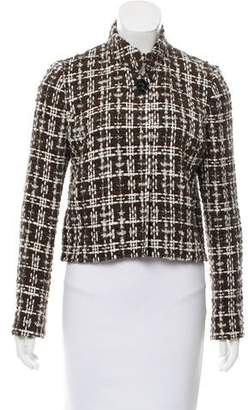 Oscar de la Renta Wool-Blend Tweed Jacket w/ Tags