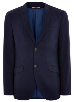 Topman Mens Navy Super Skinny Blazer