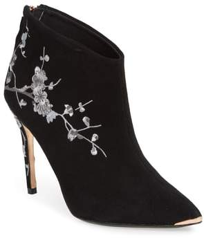 Ted Baker Novelty Embroidered Bootie
