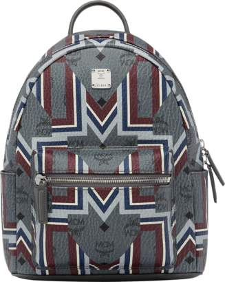 MCM Stark Backpack In Gunta M Visetos
