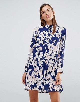 Whistles Pin Stitched Apples And Pears Shirt Dress $226 thestylecure.com