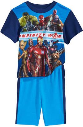Marvel 2-Pc. Infinity War Pajama Set, Little Boys & Big Boys