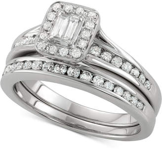 Macy's Diamond Bridal Set (3/4 ct. t.w.) in 14k White Gold