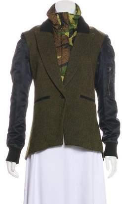 Veronica Beard Embellished Long Sleeve Jacket