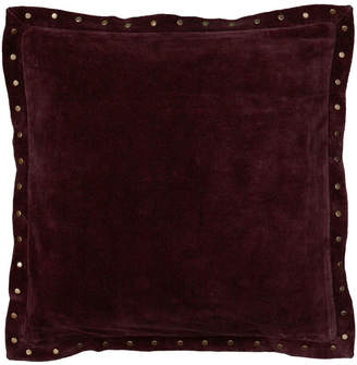 "Rizzy Home Solid 18"" x 18"" Down Filled Pillow"