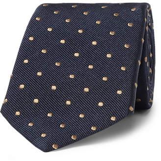 Brunello Cucinelli 6.5cm Polka-Dot Silk-Twill Tie