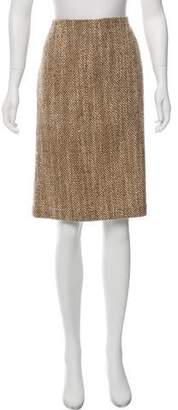 Brooks Brothers Wool Knee-Length Skirt