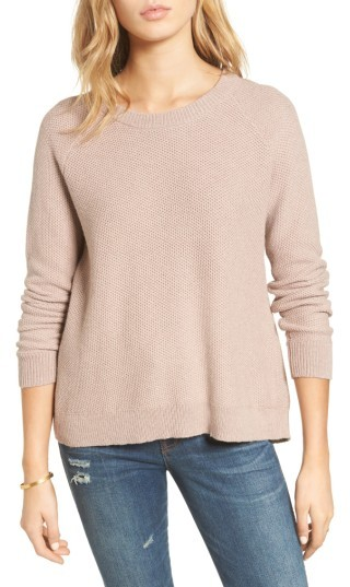 Women's Madewell Province Cross Back Knit Pullover