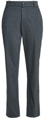 James Perse Mélange Cotton-Jersey Straight-Leg Pants
