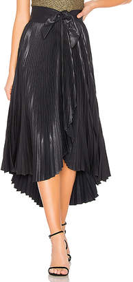 A.L.C. Eleanor Leather Skirt