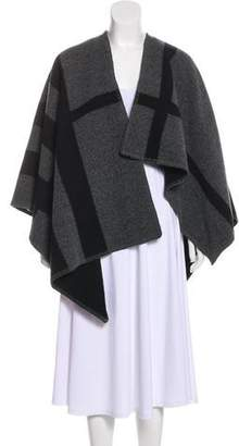 Burberry Wool & Cashmere-Blend Poncho w/ Tags