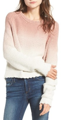 Women's Zadig & Voltaire Kary Cow Ombre Sweater $298 thestylecure.com