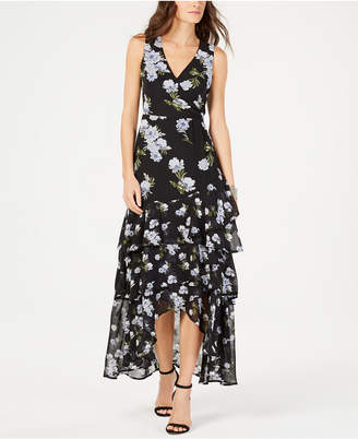 INC International Concepts I.n.c. Petite Tiered-Hem Maxi Dress