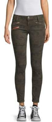 Camouflage Skinny Jeans