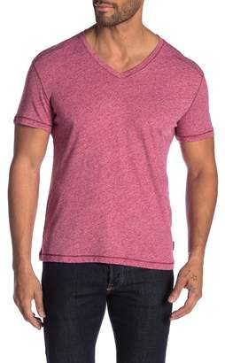John Varvatos Heathered V-Neck