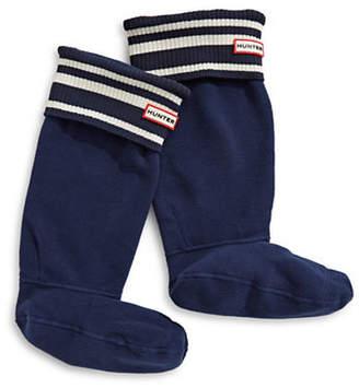 Hunter Garden Stripe Boot Sock