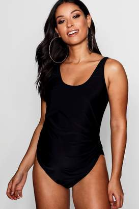 boohoo Maternity Ellie Scoop Back Swimsuit