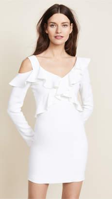Cushnie et Ochs Bella Cold Shoulder Mini Dress