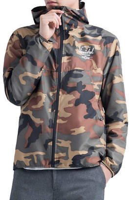 Herschel Camouflage Hooded Jacket